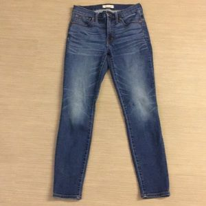 Madewell high waisted skinny jeans 27